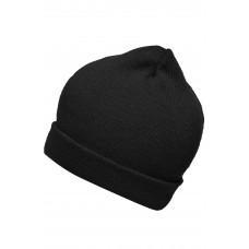 Шапка MB7112 Knitted Promotion Beanie - Черный