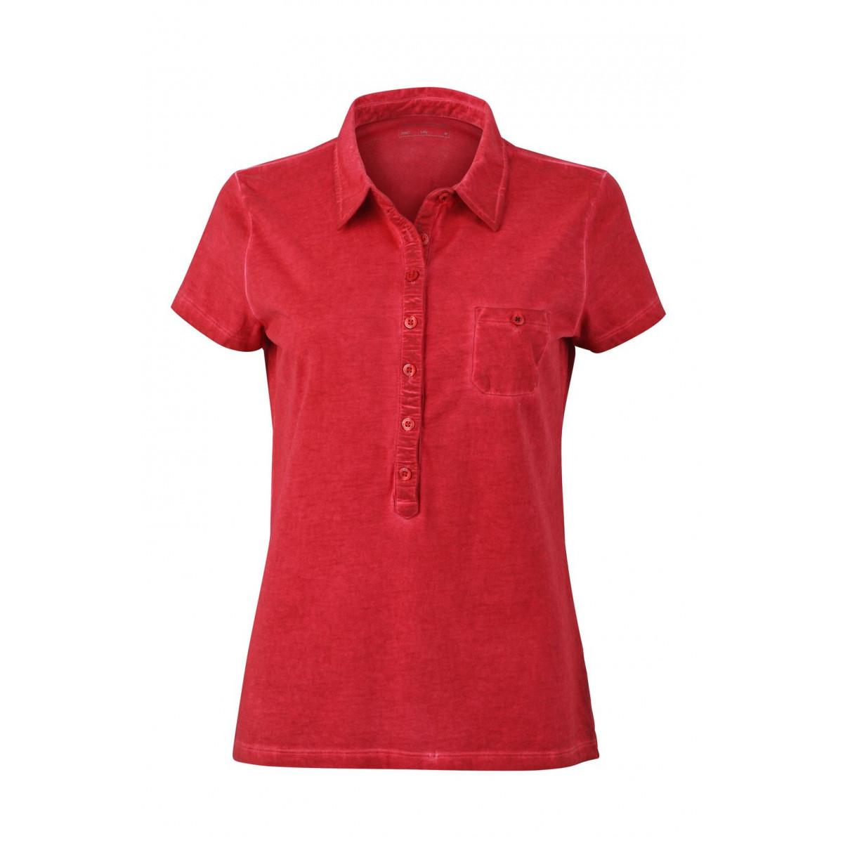 Рубашка поло женская JN987 Ladies Gipsy Polo - Чили