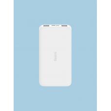 Аккумулятор внешний Xiaomi 10000mAh Redmi Power Bank (White)