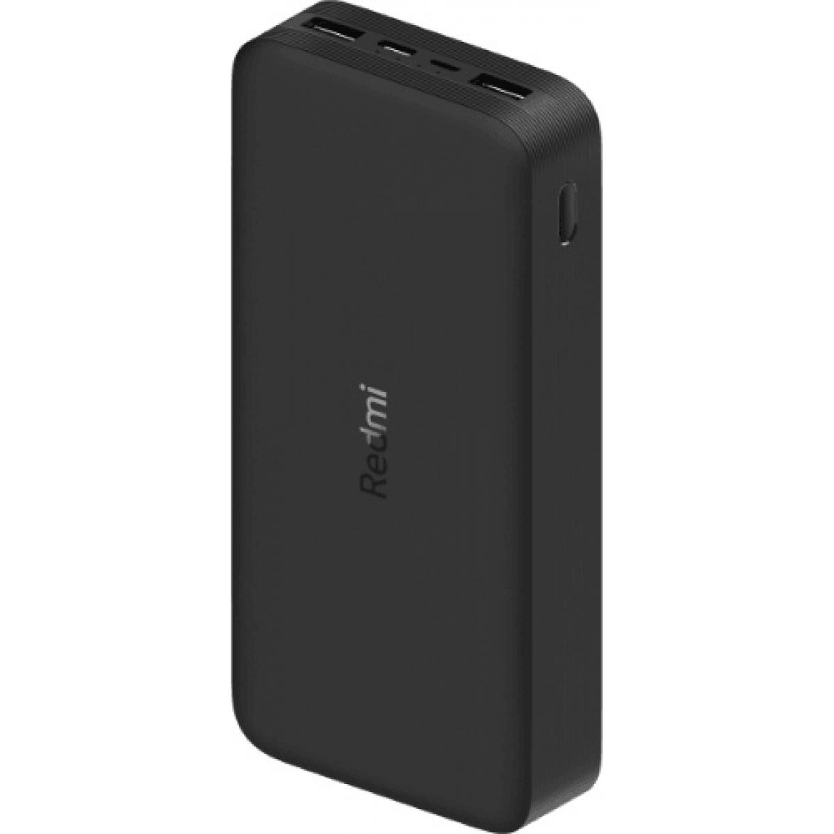 Аккумулятор внешний Xiaomi 20000mAh Redmi 18W Fast Charge Power Bank Black