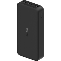 Аккумулятор внешний Xiaomi 20000mAh Redmi 18W Fast Charge Power Bank Black