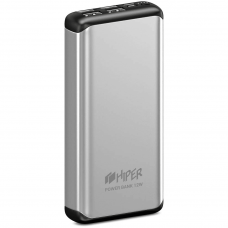Аккумулятор HIPER Внешний аккумулятор HIPER MS20000 Li-Pol 20000 mAh Aluminum 3A+2.4A 4xUSB 1xType-C серебристый